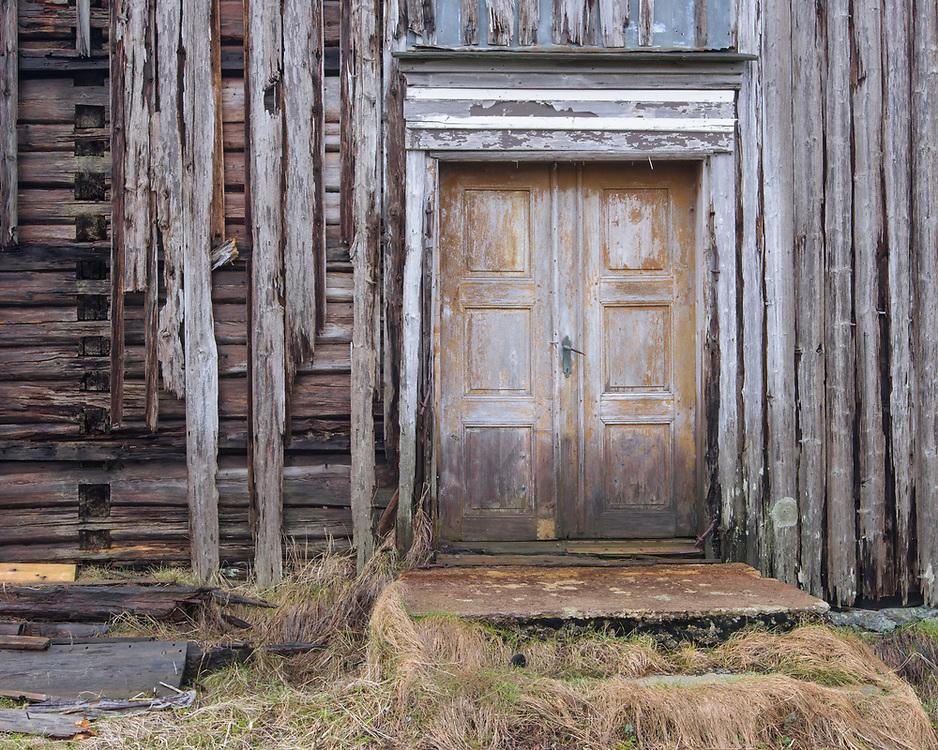 Farm building, Lofoten, Norway