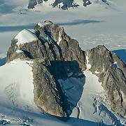 North America, United States, US, Northwest, Pacific Northwest, West, Alaska, Kenai, Kenai Fjords, Kenai Fjords National Park, Kenai Fjords NP. Vast Harding Icefield in Kenai Fjords National Park, Alaska.