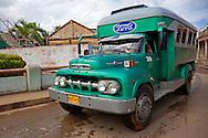 Truck in Baracoa, Guantanamo, Cuba.