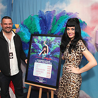 "Katy Perry Live Nation ""Water Rats to O2 Arena"" Award"