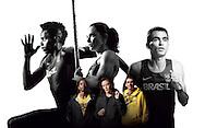New York, USA - July 27 of 2012: Nike Photo shooting. Photo:  Caio Guatelli