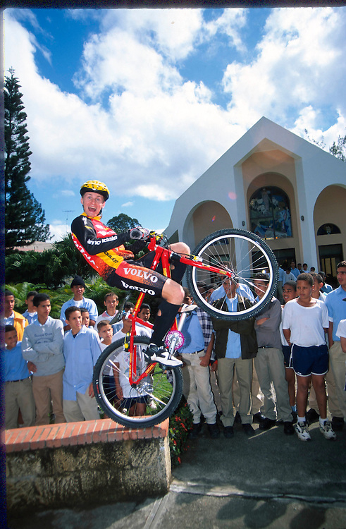 Trials superstar Libor Karas in Dominican Republic
