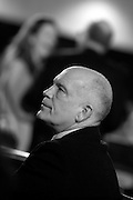 John Malkovich, at UNESCO, Paris