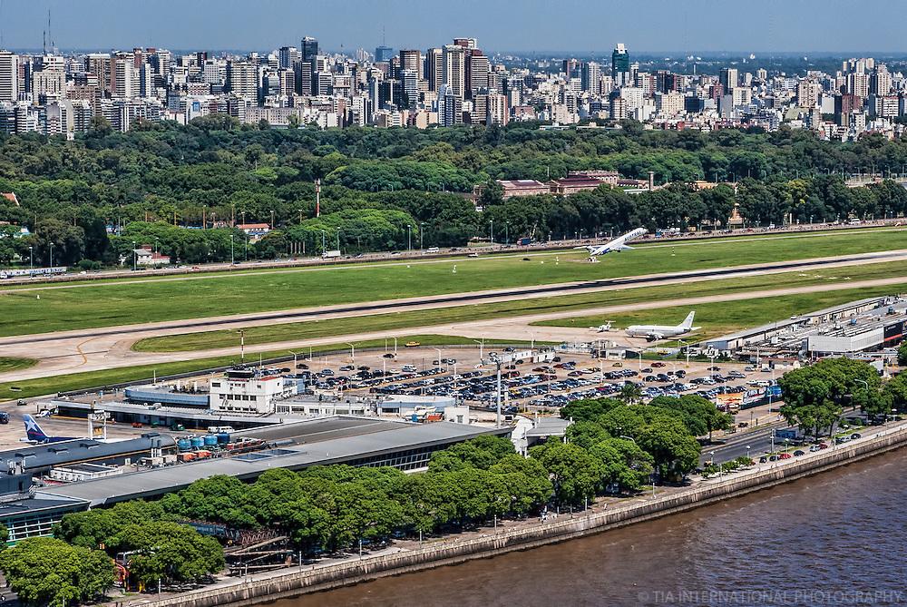 Aeroparque Internacional Jorge Newberry, Palermo