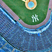 Aerial Photograph of Yankee Stadium, Bronx, New York
