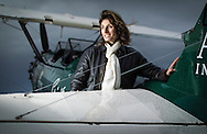 Tracey Curtis-Taylor, aviatrix.