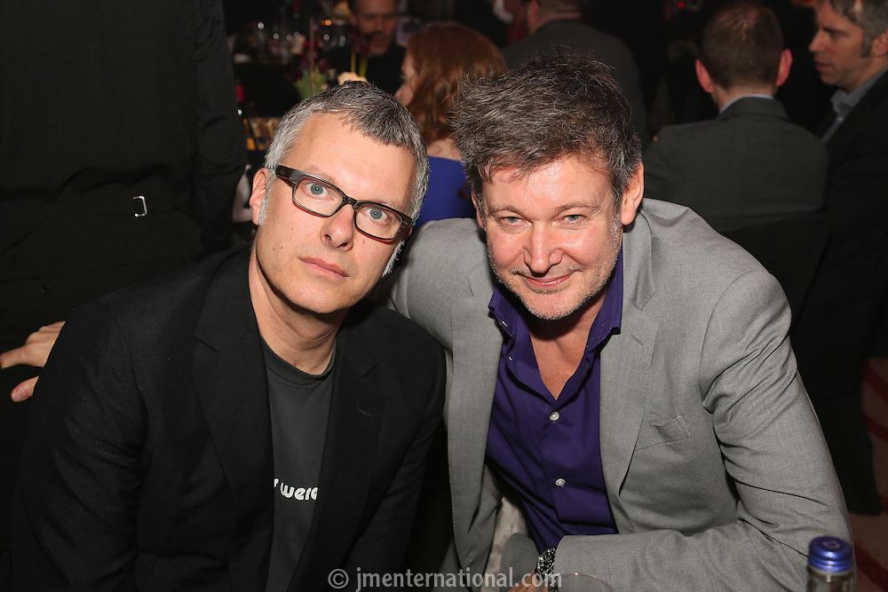 Flood (Mark Ellis) & Alan Moulder (r) - BRIT Awards & MPG Producers of the Year - The Music Producers Guild Awards :Thursday, Feb 13. 2014