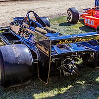 Automobiles displayed at the 2011 Santa Fe Concorso.