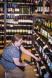 Pa. liquor, wine & spirits store.