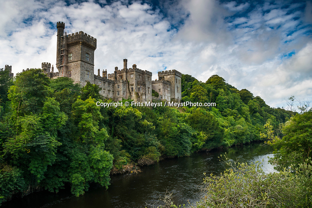 Lismore, Waterford, Southern Ireland, August 2016.  Lismore Castle is the Irish home of the Duke of Devonshire. Located in the town of Lismore in County Waterford in Ireland, it belonged to the Earls of Desmond, and subsequently to the Dukes of Devonshire from 1753. A coastal road trip from Kilkenny to Cork via Wexford and Waterford.  Photo by Frits Meyst / MeystPhoto.com