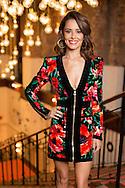 Cheryl Fernandez-Versini arriving at The X Factor Press day