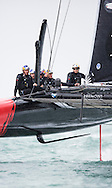 Image licensed to Lloyd Images. Free for editorial use. <br /> Pictures of Official Practice Day 24.07.15 - Oracle Team USA skippered by Jimmy Spithill <br /> Credit: Lloyd Images