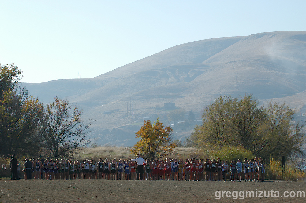 2006 Idaho High School Cross Country State Championships - Hells Gate State Park, Lewiston, Idaho.
