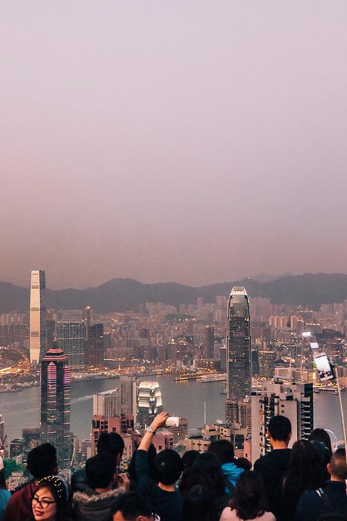 Views of Hong Kong from Victoria Peak