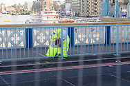Tower Bridge is now closed for major repairs until end of December 2016, The bridge is used by around 21,000 vehicles a day, The last time any major work was carried out was in the 1970's