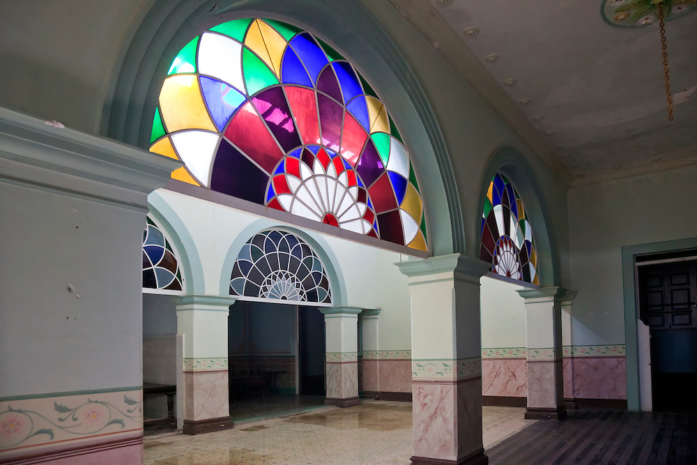 Old Mansion Windows In Gibara Holguin Cuba Robin Thom