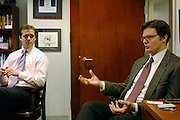 Strategas Research Partners, LLC...from left to right:.Nicholas Bohnsack (Operating Partner/Investment Strategist).Donald J. Rissmiller (Partner/Chief Economist)...Strategas Research Partners, LLC is a leading investment strategy, macro-economic, and policy research firm focused on providing timely and insightful research on the global equity and debt markets to the institutional investment community. The Firm was co-founded by Jason Trennert, Nicholas Bohnsack and Don Rissmiller, and employs research analysts and institutional salesmen at offices in New York and Washington DC..