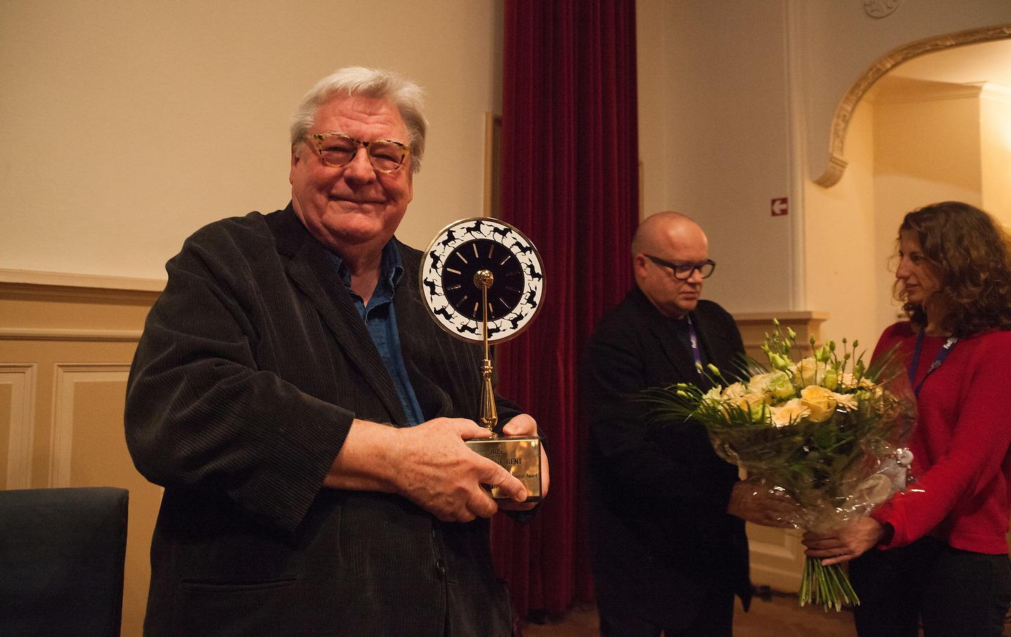 Film Fest Gent - Talk & Joseph Plateau Honorary Award Alan Parker (15-10-2015)