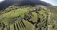 Aso de Sobremonte Village,  Jaca , Pyrenees, Huesca, Aragon, Spain<br />