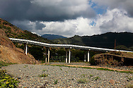 Failing bridge on the south coast road from Santiago de Cuba to Pilon.