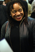 6 January 2011- Harlem, New York- Dr. Deb Willis at the Opening for The State of African American and African Diaspora Studies Conference held at the The Schomburg Center for Research in Black Culture on January 6, 2011 in the Village of Harlem. Photo Credit Terrence Jennings