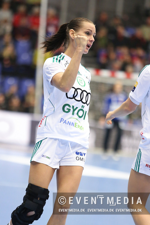Anita Görbicz (#13), Györ. EHF Champions League Main Round group match between Team Esbjerg and Györi Audi ETO KC in Blue Water Dokken, Esbjerg, Danmark, 5.02.2017. Photo Credit: Allan Jensen/EVENTMEDIA.