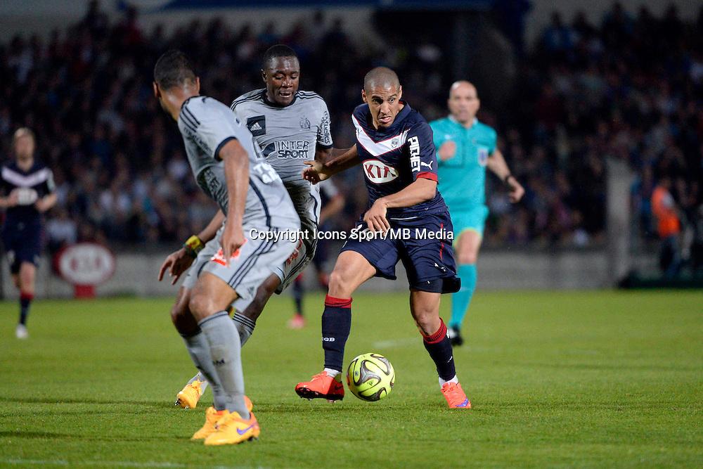 Wahbi KHAZRI  - 12.04.2015 - Bordeaux / Marseille - 32eme journee de Ligue 1 <br />Photo : Caroline Blumberg / Icon Sport