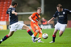 Dundee Utd's Paul Dixon passes..Half-time. Dundee Utd 0 v 0 Falkirk. Scottish Communities League Cup, 25/10/2011..Pic © Michael Schofield.