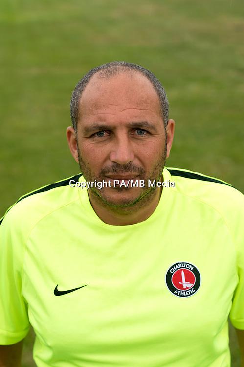 Charlton Athletic first team coach Damian Matthew