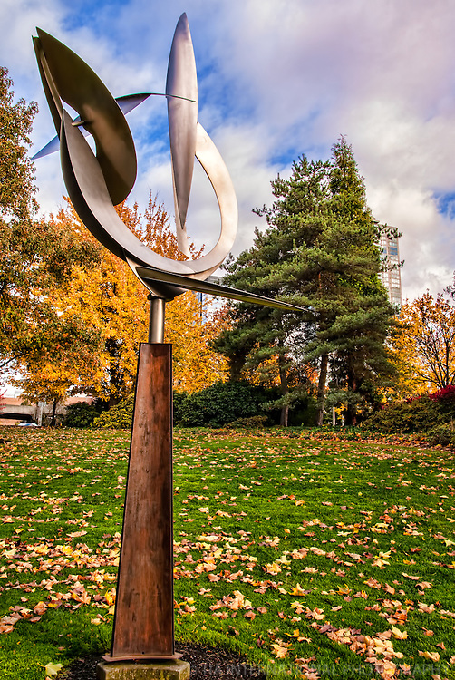 Sculpture at Bellevue Downtown Park