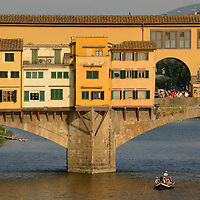 Ponte Veccio, Fiume River,Florence,Tuscany,Italy, Europe