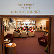 The new John and Nancy Clute Student Lounge recently opened at Gonzaga Law School. (Gonzaga University photo)
