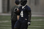 Nicholas Parker (4) during Ole Miss' spring practice at the IPF in Oxford, Miss. on Monday, March 28, 2011.