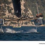 GC32 RIVA CUP, Lago di Garda, Italy. Jesus Renedo/Sailing Energy/GC32 Racing Tour. 14 September, 2019.<span>Jesus Renedo/GC32 Racing Tour</span>