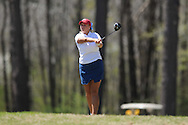 Ole Miss golfer Ashley Lance tees off on the 8th hole at the Rebel Intercollegiate held at the Ole Miss Golf Course in Oxford, Miss. on Saturday, April 2, 2011.