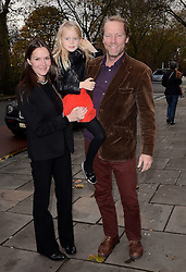 Charlotte Emerson, Iain Glen and Maryattend A VIP Gala Performance of Matthew Bourne's Edward Scissorhands at Saddlers Wells Theatre, Rosebery Avenue, London on Sunday 7th December 2014