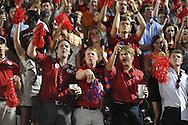 The student section at Ole Miss vs. Texas at Vaught-Hemingway Stadium in Oxford, Miss. on Saturday, September 15, 2012. Texas won 66-21. Ole Miss falls to 2-1.