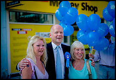 SEP 16 2014 William Hague Visits Clacton campaigning for by-election
