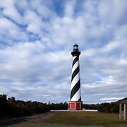 NC00812-00...NORTH CAROLINA - Cape Hatteras Lighthouse in the Cape Hatteras National Seashore near the town of Buxton.