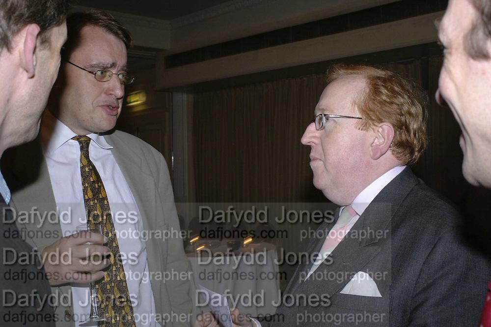 Harry Phibbs and Simon Heffer | Dafydd Jones