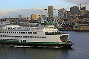 Our ferries have been delivering us to and from work since we got here. (Ken Lambert / The Seattle Times)