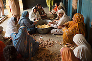 """At  Gurdwara Siri Punja Sahib Temple in Hasanabdad, more than 450 Sikh families have sought shelter from the recent fighting between militants and government forces in the Buner and SWAT districts if Pakistan...According to Dr Suran Singh, the 'Camp in Charge' person for the temple, the Sikh community fled and sought shelter at the Sikh temple not because of fear and persecution by the Taliban but because of the bombing and shelling by government forces on nearby houses and businesses. He said it was in everyone's interest to leave during the curfew periods dictated by the military as the fighting would inevitable cost innocent lives and those who stayed would not be able to survive because all businesses in the areas had closed. He emphasised that they had no quarrel with the Taliban and had not been forced to leave the area by militant forces...The Gurdwara Siri Punja Sahib Temple has some 305 rooms able to accommodate families with others being accommodated in adjoining areas of the temple. Dr Suran Sign praised the assistance that had been offered by both the local Muslim community, UNHCR and the government. He said they had been given medical provisions, bedding, clothing and resources to provide an ongoing education to the children at the temple...D Signh said the residents main concern was the destruction and arson of the local bank in his town which he claims had no computerised system. Many in the Sikh community had their life savings deposited with the bank, they now fear that the money has been either looted or destroyed with little in the way of proof to show for the savings they once had...Most people like 54 year old Mr Manjeet Singh had evacuated his family of 5 form SWAT on the 3rd of May. He also praised the facilities and efforts of the temple, saying that they had no immediate needs for IDP aid at the moment. He said his family was content living at close quarters in this self contained community but """"home is home' - he prayed that the fighting wo"""
