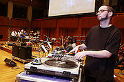 DJ Preservation at rehearsals for his Mos Def Presents: The Amino Akaline-The Watermelon Syndicate Produced by Jill Newman at The Kennedy Center on Septemeber 22, 2008 in Washington, DC