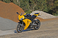 2008 Honda CBR1000RR Fireblade - Pearl Yellow.Upper Plenty, Victoria, Australia.24th of October 2009.(C) Joel Strickland Photographics.Use information: This image is intended for Editorial use only (e.g. news or commentary, print or electronic). Any commercial or promotional use requires additional clearance.
