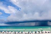 Approaching afternoon storm in the Gulf of Mexico.