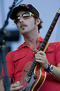 Saturday, August 2, 2008; Broken Social Scene performs at Lollapalooza 2008..Photo by Bryan Rinnert