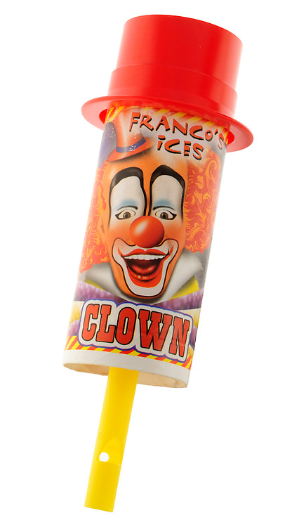 Franco's Clown push up Ice Lolly