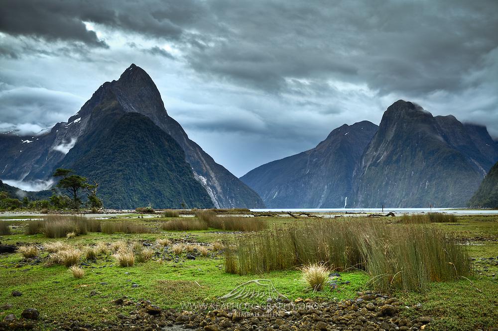 Mitre Peak, Milford Sound, Fiordland, New Zealand