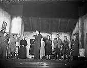 """1959 - Listowel Drama Group performs """"Sive"""" at the Abbey Theatre"""