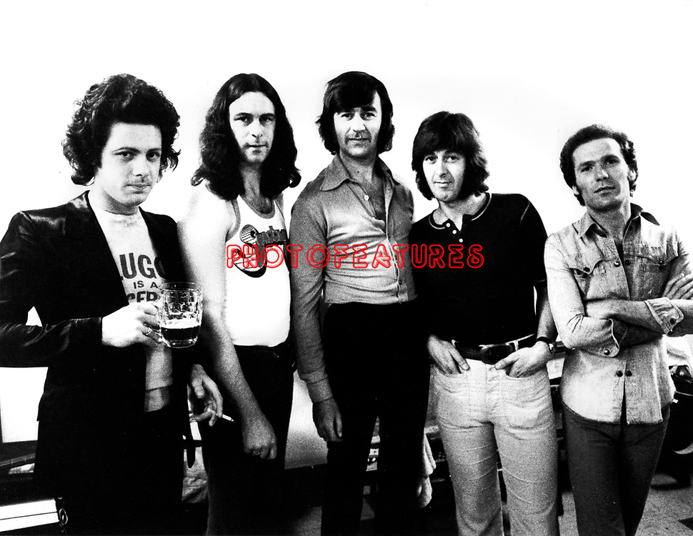 Spencer Davis Group 1973 Eddie Hardin Charlie McCracken Pete York Spencer Davis Ray Fenwick<br /> &copy; Chris Walter